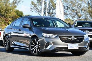 2018 Holden Commodore ZB MY18 RS Liftback AWD Grey 9 Speed Sports Automatic Liftback.