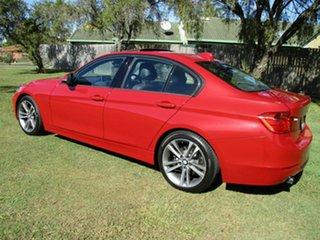 2015 BMW 3 Series F30 MY1114 320i Sport Line Red 8 Speed Sports Automatic Sedan