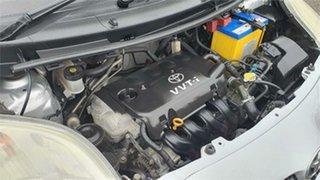 2008 Toyota Yaris NCP90R YR Silver 5 Speed Manual Hatchback
