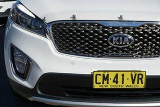 2017 Kia Sorento UM MY17 SLi AWD White 6 Speed Sports Automatic Wagon