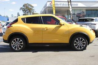 2016 Nissan Juke F15 Series 2 ST 2WD Yellow 6 Speed Manual Hatchback.