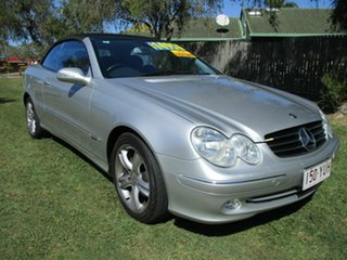 2003 Mercedes-Benz CLK-Class A208 CLK200 Kompressor Elegance Silver 5 Speed Sports Automatic.