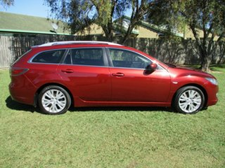 2009 Mazda 6 GH1051 MY09 Classic Red 5 Speed Sports Automatic Wagon.