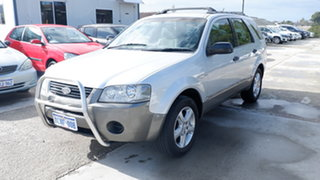 2007 Ford Territory SY TS AWD Silver 6 Speed Sports Automatic Wagon.