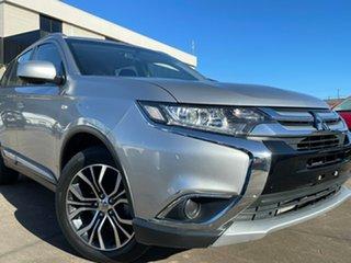 2018 Mitsubishi Outlander ZL MY18.5 ES AWD Silver 6 Speed Constant Variable Wagon.