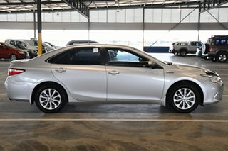 2017 Toyota Camry AVV50R Altise Silver Pearl 1 Speed Constant Variable Sedan Hybrid
