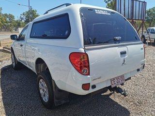 2011 Mitsubishi Triton MN MY12 GLX 4x2 White 5 Speed Manual Utility