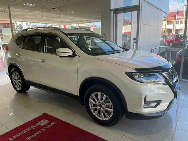 Used Nissan X-Trail T32 Series III MY20 ST-L X-tronic 4WD Launceston, 2020 Nissan X-Trail T32 Series III MY20 ST-L X-tronic 4WD Ivory Pearl 7 Speed Constant Variable