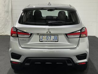 2020 Mitsubishi ASX XD MY20 ES 2WD Sterling Silver 1 Speed Constant Variable Wagon