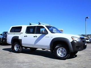 2006 Mazda BT-50 UNY0E3 DX 4x2 White 5 Speed Manual Utility