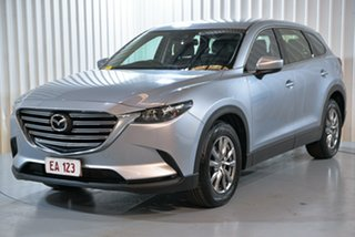 2018 Mazda CX-9 MY18 Touring (FWD) Silver 6 Speed Automatic Wagon.