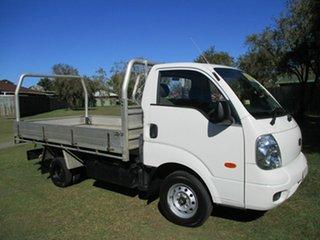 2009 Kia K2900 PU3 White 5 Speed Manual Cab Chassis.