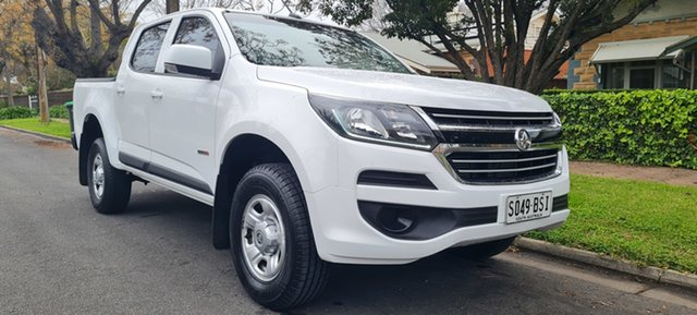 Used Holden Colorado RG MY17 LS Crew Cab 4x2 Nailsworth, 2017 Holden Colorado RG MY17 LS Crew Cab 4x2 White 6 Speed Sports Automatic Cab Chassis