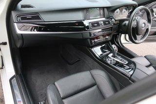 2013 BMW 5 Series F10 LCI 535i Steptronic M Sport White 8 Speed Sports Automatic Sedan