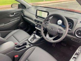 2021 Hyundai Kona Os.v4 MY21 Highlander 2WD Pulse Red & Black Roof 8 Speed Constant Variable Wagon