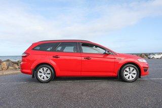 2014 Ford Mondeo MC LX PwrShift TDCi Red 6 Speed Sports Automatic Dual Clutch Wagon