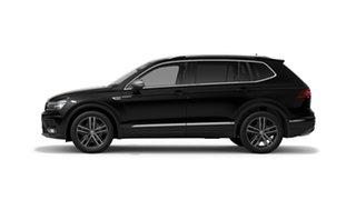 2021 Volkswagen Tiguan 5N MY21 162TSI Highline DSG 4MOTION Allspace Deep Black Pearl Effect 7 Speed.