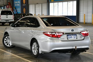 2017 Toyota Camry AVV50R Altise Silver Pearl 1 Speed Constant Variable Sedan Hybrid.