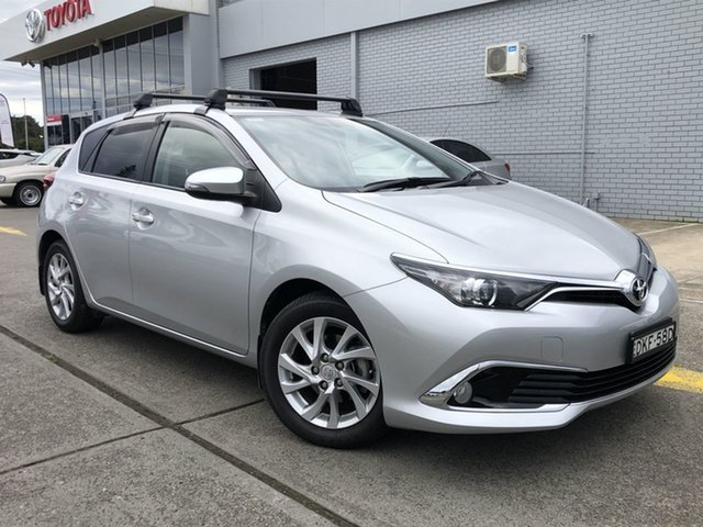 Pre-Owned Toyota Corolla ZRE182R Ascent Sport S-CVT Cardiff, 2016 Toyota Corolla ZRE182R Ascent Sport S-CVT Silver 7 Speed Constant Variable Hatchback