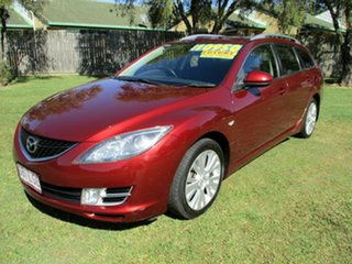 2009 Mazda 6 GH1051 MY09 Classic Red 5 Speed Sports Automatic Wagon
