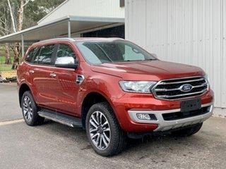 2019 Ford Everest UA II 2019.00MY Titanium Red 10 Speed Sports Automatic SUV.