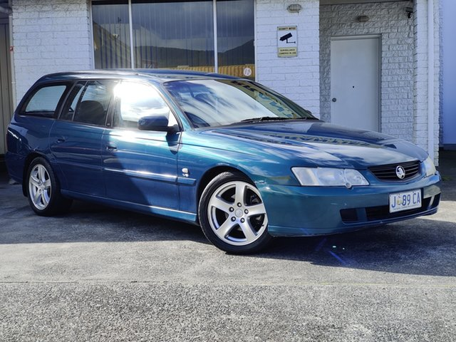 Used Holden Commodore VY Executive Derwent Park, 2003 Holden Commodore VY Executive Blue 4 Speed Automatic Wagon