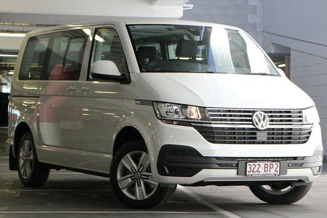 Demo Volkswagen Multivan T6.1 MY20 TDI340 SWB DSG Comfortline Premium Indooroopilly, 2020 Volkswagen Multivan T6.1 MY20 TDI340 SWB DSG Comfortline Premium Candy White 7 Speed