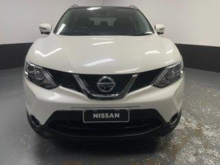 2015 Nissan Qashqai J11 TL Ivory Pearl 1 Speed Constant Variable Wagon.