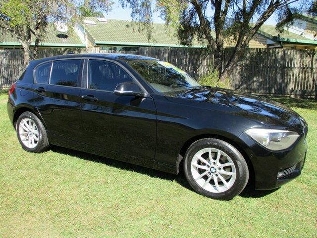 Used BMW 1 Series F20 MY0314 116i Steptronic Kippa-Ring, 2014 BMW 1 Series F20 MY0314 116i Steptronic Black 8 Speed Sports Automatic Hatchback