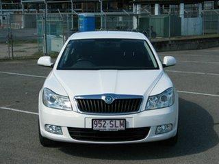 2012 Skoda Octavia 1Z MY12 118 TSI White 7 Speed Auto Direct Shift Liftback.