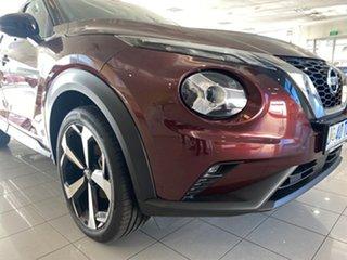 2021 Nissan Juke F16 ST-L DCT 2WD Burgundy 7 Speed Sports Automatic Dual Clutch Hatchback.