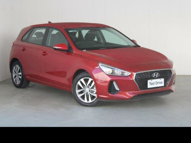 Used Hyundai i30 PD2 MY19 Active Gungahlin, 2018 Hyundai i30 PD2 MY19 Active Red 6 Speed Automatic Hatchback