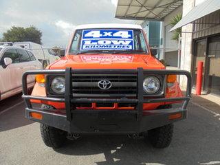 1997 Toyota Landcruiser HZJ75RV Troopcarrier Red 5 Speed Manual Hardtop.