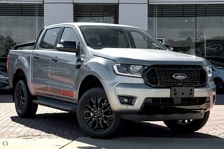 2021 Ford Ranger PX MkIII 2021.75MY FX4 Silver 6 Speed Sports Automatic Double Cab Pick Up.