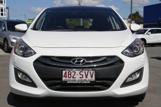2012 Hyundai i30 GD Premium White 6 Speed Sports Automatic Hatchback.