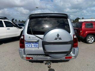 2006 Mitsubishi Pajero NP MY06 VR-X LWB (4x4) Silver 5 Speed Auto Sports Mode Wagon