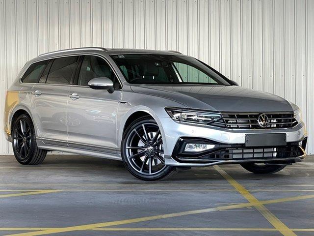 New Volkswagen Passat 3C (B8) MY21 206TSI DSG 4MOTION R-Line Moorabbin, 2021 Volkswagen Passat 3C (B8) MY21 206TSI DSG 4MOTION R-Line Silver 6 Speed