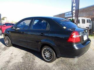 2008 Holden Barina TK MY08 Black 4 Speed Automatic Sedan