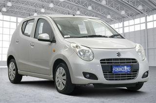 2013 Suzuki Alto GF GL Silver 4 Speed Automatic Hatchback.