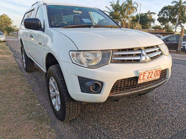 Used Mitsubishi Triton MN MY12 GLX 4x2 Pinelands, 2011 Mitsubishi Triton MN MY12 GLX 4x2 White 5 Speed Manual Utility