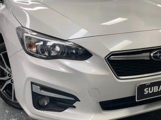 2017 Subaru Impreza G5 MY18 2.0i-L CVT AWD White 7 Speed Constant Variable Hatchback.