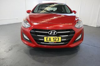 2017 Hyundai i30 GD4 Series II MY17 Active Red 6 Speed Manual Hatchback.