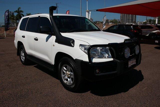 Used Toyota Landcruiser VDJ200R MY13 GX Darwin, 2013 Toyota Landcruiser VDJ200R MY13 GX Glacier White 6 Speed Automatic Wagon