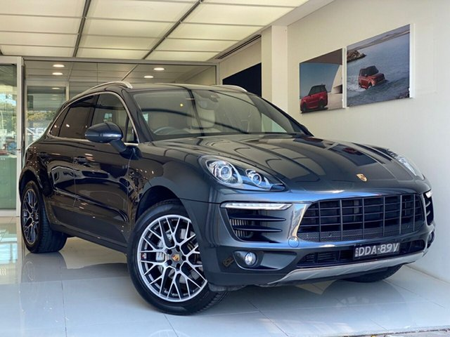 Pre-Owned Porsche Macan 95B MY17 S PDK AWD Brookvale, 2016 Porsche Macan 95B MY17 S PDK AWD Grey 7 Speed Sports Automatic Dual Clutch Wagon