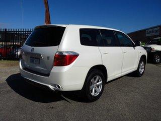 2008 Toyota Kluger GSU40R KX-R (FWD) 7 Seat White 5 Speed Automatic Wagon.