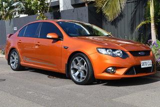 2010 Ford Falcon FG XR6 50th Anniversary Orange 6 Speed Sports Automatic Sedan