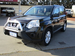 2012 Nissan X-Trail T31 MY11 ST (FWD) Black Continuous Variable Transmission Wagon.