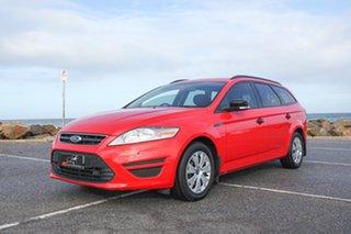 2014 Ford Mondeo MC LX PwrShift TDCi Red 6 Speed Sports Automatic Dual Clutch Wagon.