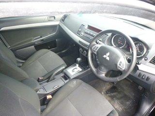 2011 Mitsubishi Lancer CJ MY11 SX Black & Grey 6 Speed CVT Auto Sequential Sedan