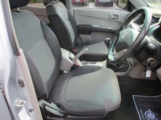 2007 Mitsubishi Triton ML Turbo GLX-R 4x4 Silver Manual Dual Cab Utility